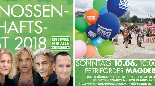 Genossenschaftsfest mit Stargast Münchener Freiheit