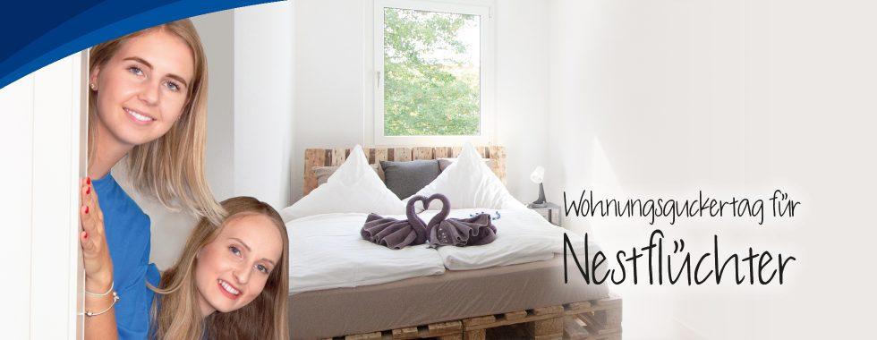 Wohnungsguckertag für Nestflüchter