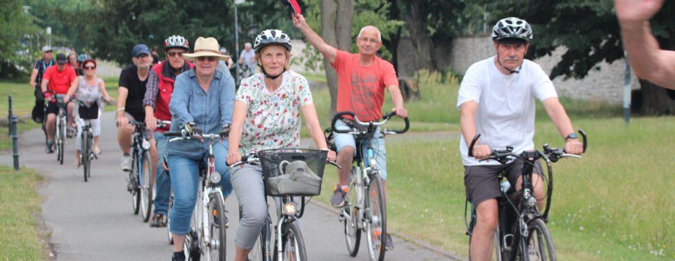 Juli 2021: Radtour mit Freude und Sonnenschein